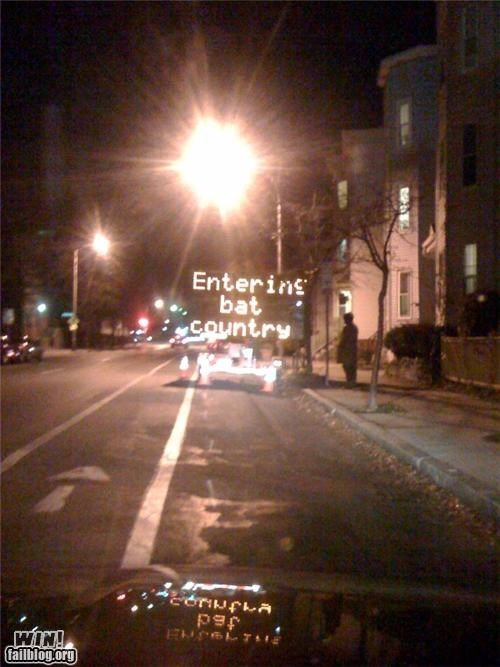 hacked movies road signs