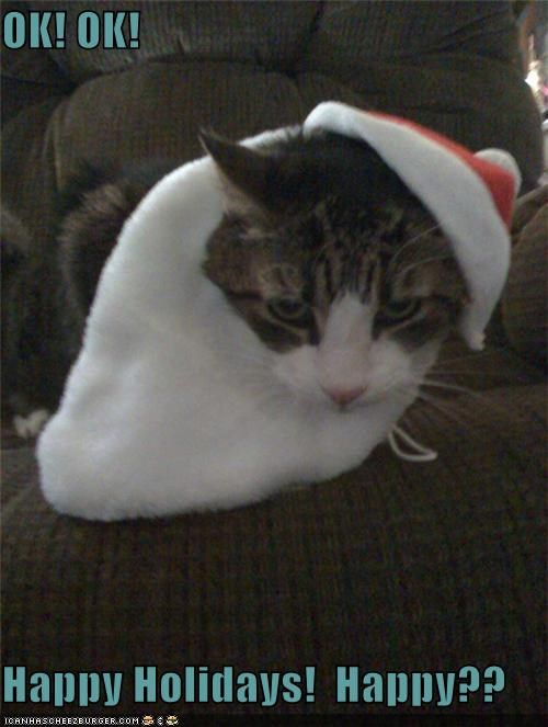 OK! OK!  Happy Holidays!  Happy??