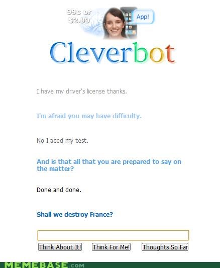 Cleverbot france - 4241189888