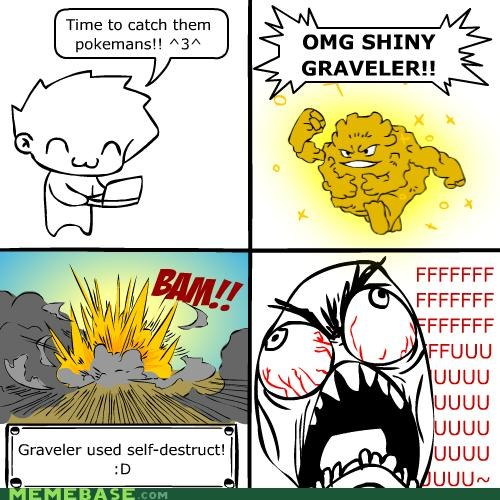 comics fu graveler Pokémans rage Rage Comics - 4241652736