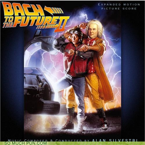 Bach back to the future johann sebastian bach Movie off-rhyme song soundtrack title toccata and fugue