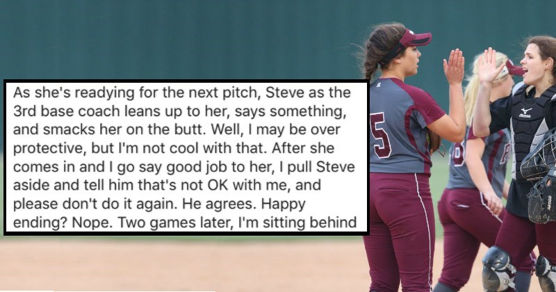 Dad Gets Brutal Revenge After Man Slaps His Daughter's A** During a Softball Game