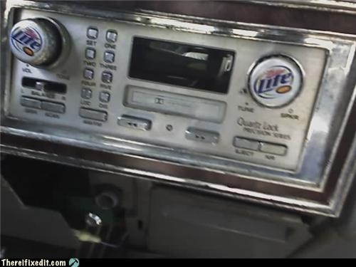 alcohol makes it better beer car knobs