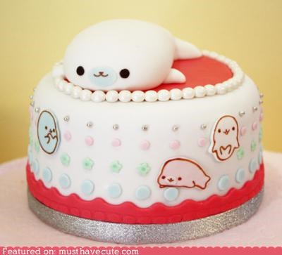 cake epicute fondant seal - 4244312064