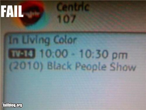 description failboat racist show television - 4244700672