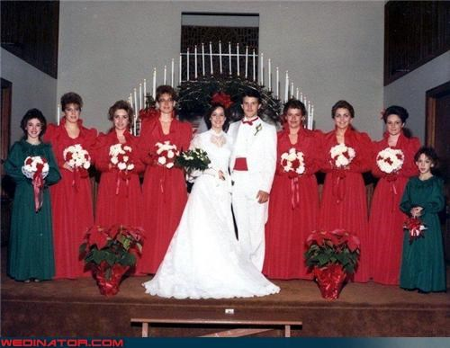 80s wedding picture,awkward family photos,awkward wedding photos,bride,fashion is my passion,funny 80s wedding picture,funny wedding photos,groom,holiday themed wedding,were-in-love,wedding party,Wedding Themes