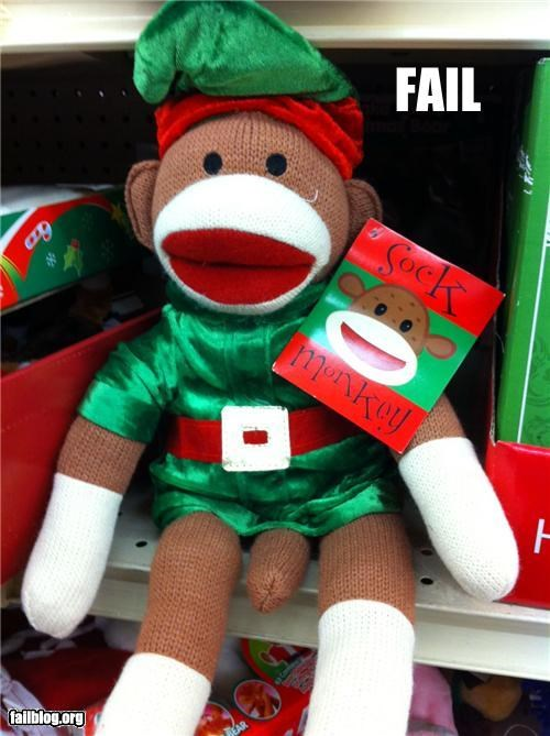 failboat sock monkey stuffed animals tail Things That Are Doing It - 4245604864