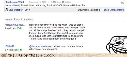 lies Music troll username youtube - 4246479872