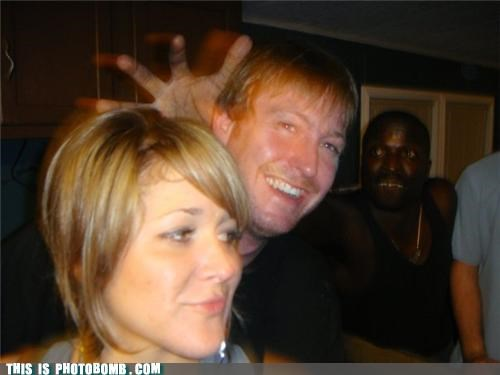 awesome background headcase Party photobomb