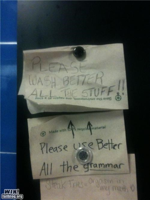 grammar,notes,passive aggressive