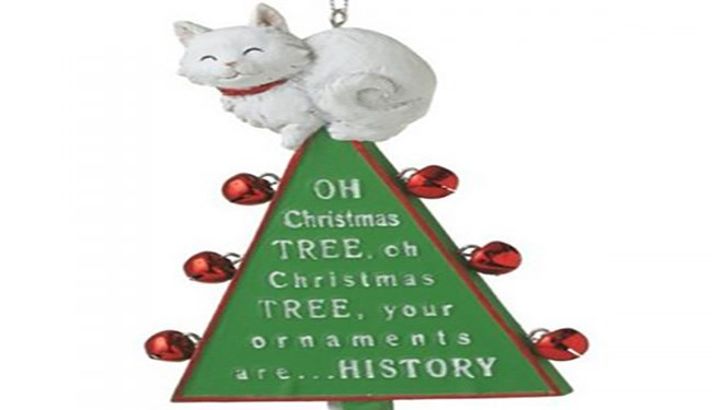 Adorable cat ornaments for your tree