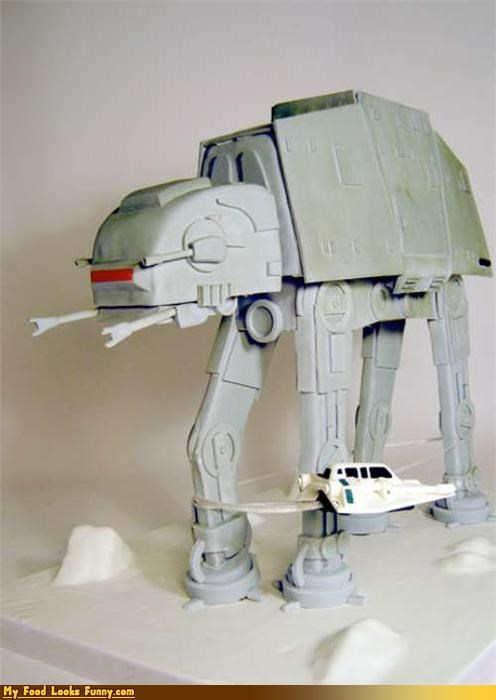 at at,at-at walker,cake,Empire Strikes Back,star wars,Sweet Treats