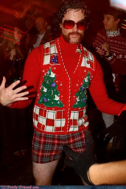beard,christmas,sunglasses,sweater