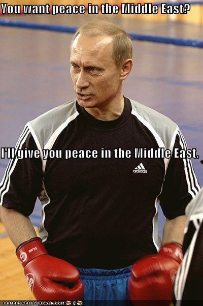 Badass boxing middle east peace russia Vladimir Putin vladurday - 4250885888