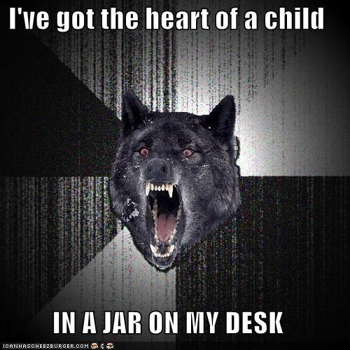 child desk heart Insanity Wolf jar softer side - 4252190464