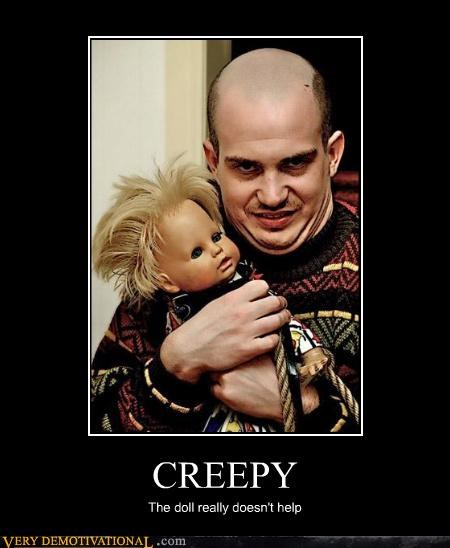 balding creepy doll lol wtf