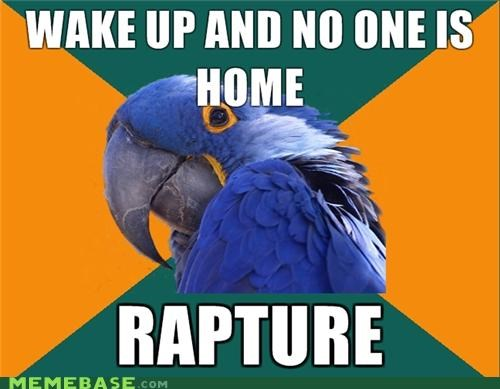 Home Alone,Paranoid Parrot,RAPTURE