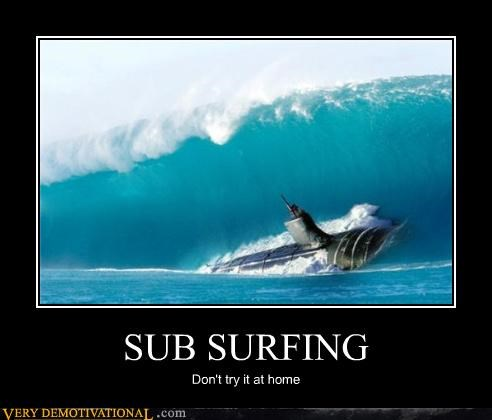 advice dont-try-it-at-home epic submarine wave - 4253487104