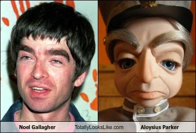 Aloysius Parker,noel gallagher,oasis,thunderbirds