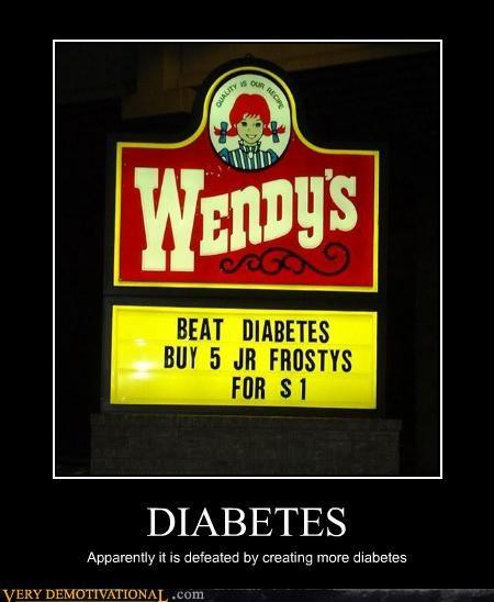 diabetes fast food irony unhealthy - 4254478848