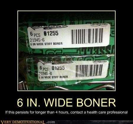 6 inch wide,boner,cialis,medical condition,wtf