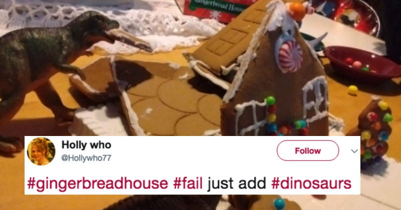 People share stories of their worst gingerbread house fails and these stories are gold.