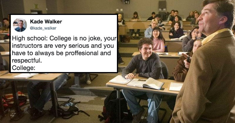 College kid shares professor's sassy email that goes viral, and professor ends up clapping back with hilarious email.
