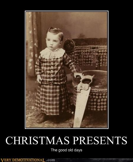 awesome christmas good old days kids saw tools vintage - 4257258240