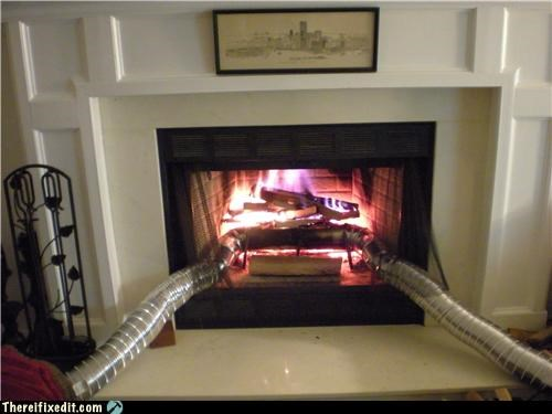 fire fireplace heater vents - 4257286912