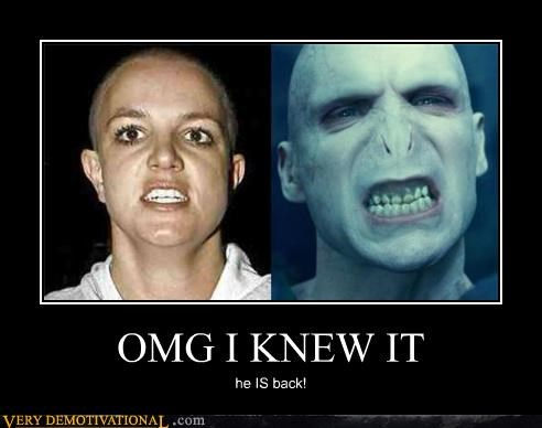 britney spears celeb magic omg snape Witches - 4257650944