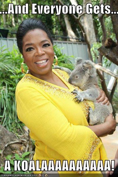 animals celeb lolz oprah TV - 4258215936
