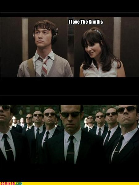 500 Days of Summer agent smith babe From the Movies kevin smith the smiths will smith Zoey Deschanel - 4258274304