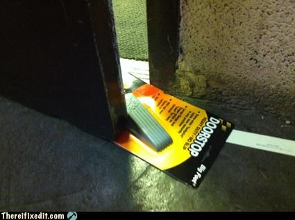 door stop lazy on a new level literal - 4258565376