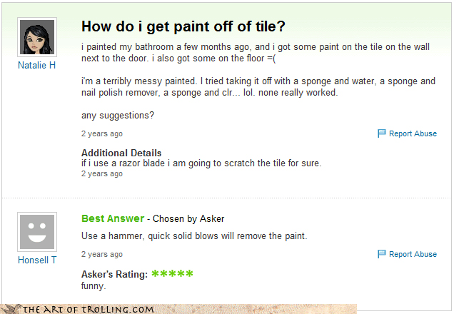 paint,yahoo answers