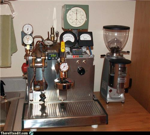 coffee not a kludge Steampunk