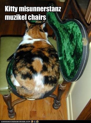 Kitty misunnerstanz muzikel chairs