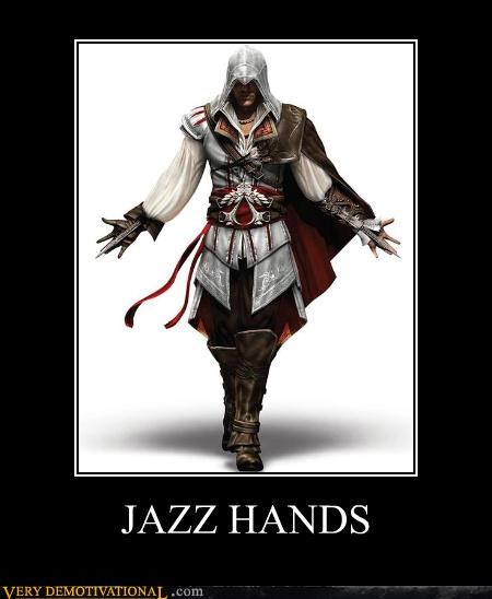 assassins creed,jazz hands,lol,Videogames