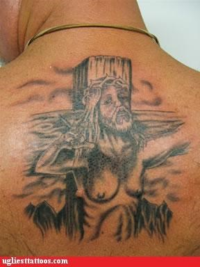 back pieces,bloodnguts,boobies,holidays,jesus christ,religion,Shoot Screw or Marry