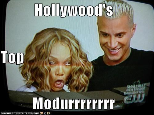 Celebriderp hollywood model next top Tyra Banks - 4261145344