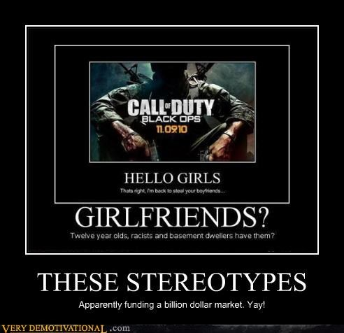 call of duty,girlfriend,modern living,racism,sad but true,Videogames