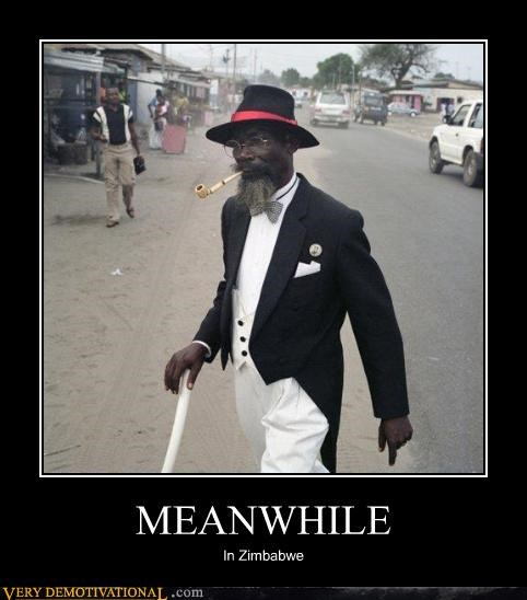 africa awesome guy Meanwhile pipe wtf zimbabwe - 4261994240