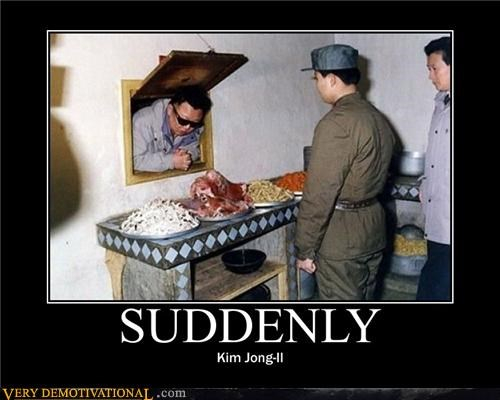 Kim Jong-Il,lol,North Korea,politics,suddenly,sunglasses,wtf