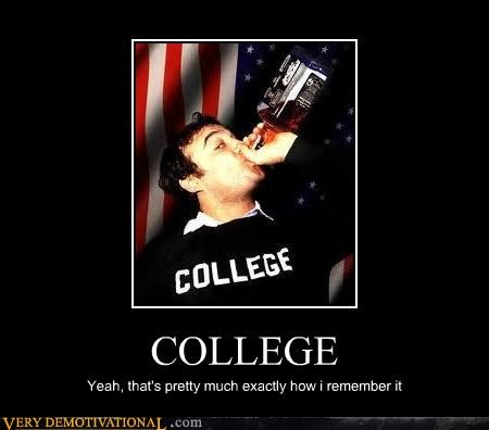 COLLEGE Yeah, that's pretty much exactly how i remember it