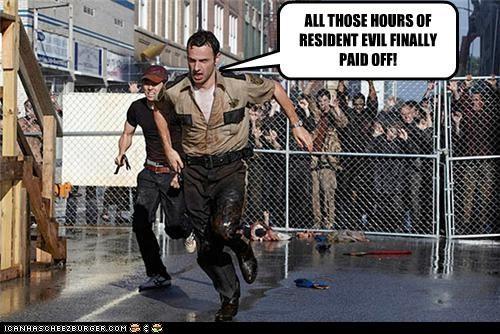funny The Walking Dead TV zombie - 4262313472