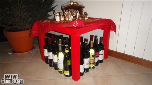alcohol christmas happy hour juxtaposition wine - 4262354176