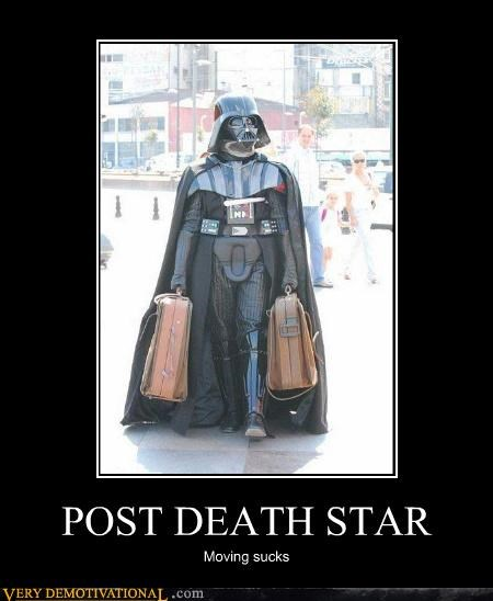 darth vader Death Star destruction modern living sad but true star wars