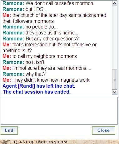 fake LDS magnets Mormon Chat neighbors - 4262516992