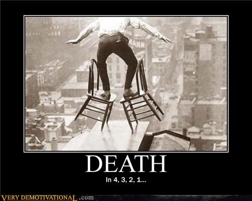 certain doom,chair,Death,vintage,wtf