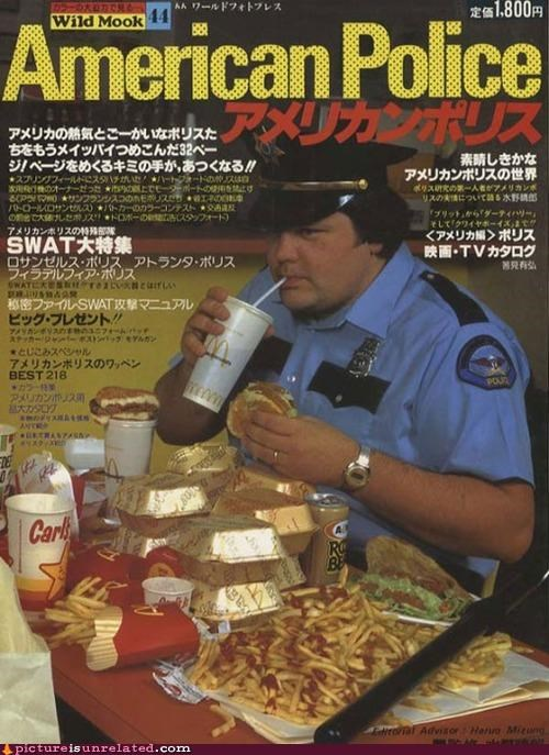 america,assessment,cops,honest,Japan,junk food,wtf