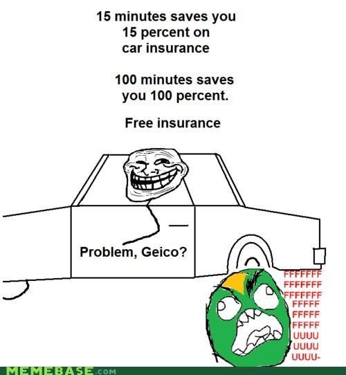 car insurance gecko GEICO troll science
